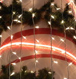 Weihnachtsleuchte-abstrakter Hintergrund Lizenzfreies Stockbild