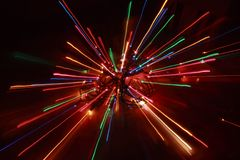 Weihnachtsleuchte-Impuls Stockfotografie
