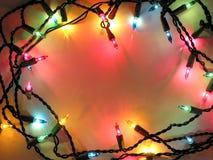 Weihnachtsleuchtefeld Lizenzfreies Stockfoto
