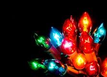 Weihnachtsleuchten Lizenzfreie Stockfotos