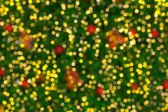 Weihnachtsleuchten bokeh Lizenzfreie Stockfotos