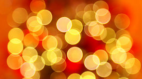 Weihnachtsleuchten bokeh Hintergrund Lizenzfreie Stockfotos