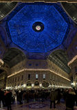 Weihnachtsleuchten in Mailand Stockfoto