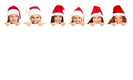 Weihnachtsleute Stockfoto