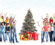 Weihnachtsleute stockfotografie