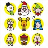 Weihnachtsleute Lizenzfreie Stockfotografie