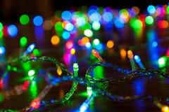 Weihnachtslicht Lizenzfreie Stockfotos
