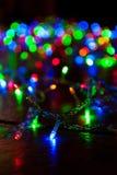 Weihnachtslicht Stockbild