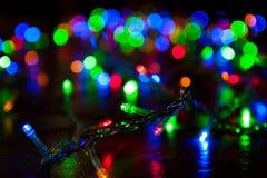 Weihnachtslicht Lizenzfreie Stockfotografie