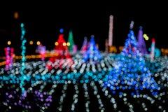 Weihnachtslicht-Dekoration Stockbilder