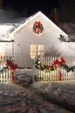 Weihnachtslichter Stockbild