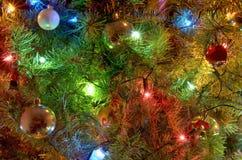 Weihnachtslichter Stockfoto