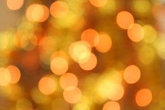 Weihnachtslichter bokeh Lizenzfreie Stockfotografie