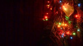 Weihnachtslichter sind- ein klassisches Symbol stock video