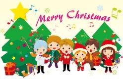 Weihnachtsliede Lizenzfreies Stockbild