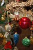 Weihnachtsluftblasen stockbilder