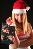Weihnachtsmädchen Lizenzfreie Stockbilder