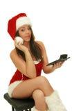 Weihnachtsmädchen Lizenzfreie Stockfotos