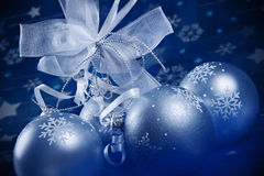 Weihnachtsmagie Stockfoto