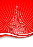 Weihnachtsmagie - magischer Baum Stockfotografie