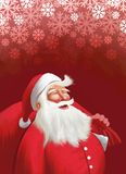 Weihnachtsmann lizenzfreies stockbild