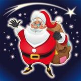 Weihnachtsmann. lizenzfreie abbildung