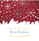Weihnachtsmann auf einem Schlitten Lizenzfreie Stockbilder