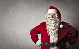 Weihnachtsmann-Blick stockfotografie