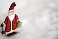Weihnachtsmann-Figürchen Lizenzfreie Stockfotografie