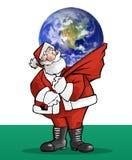 Weihnachtsmann-Geschenk Stockfoto