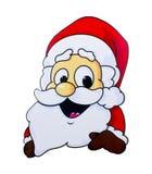 Weihnachtsmann, getrennt Lizenzfreies Stockfoto
