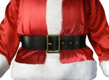 Weihnachtsmann-Gurt Lizenzfreies Stockbild