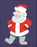 Weihnachtsmann im Rot Lizenzfreie Stockbilder