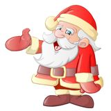 Weihnachtsmann-Karikatur Lizenzfreie Stockbilder