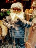 Weihnachtsmann kommt stockfotografie