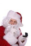 Weihnachtsmann mit einem Ring Stockfotografie