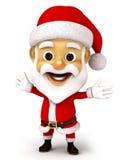 Weihnachtsmann mit Gefühl Stockbild