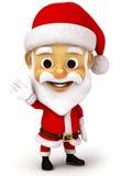Weihnachtsmann mit Gefühl Stockfotos