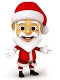 Weihnachtsmann mit Gefühl Lizenzfreies Stockbild