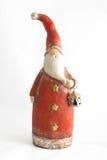 Weihnachtsmann mit Laternedekor Lizenzfreies Stockbild