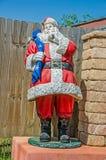 Weihnachtsmann mit seinem Sack Stockfotos