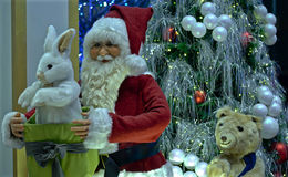 Weihnachtsmann-Modell Lizenzfreie Stockbilder