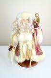 Weihnachtsmann-Puppe Stockbild