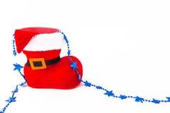 Weihnachtsmann-Schuh Stockfotografie