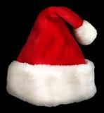 Weihnachtsmann-Schutzkappe Stockfotografie