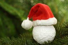 Weihnachtsmann-Schutzkappe Stockfoto