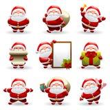 Weihnachtsmann-Set Lizenzfreie Stockfotos