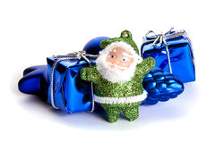 Weihnachtsmann-Spielzeug Stockbilder