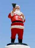 Weihnachtsmann-Statue Stockfotografie