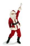 Weihnachtsmann-Tanzen Lizenzfreies Stockfoto